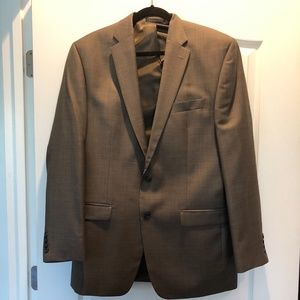 Like new Chaps suit 42L 34X30 100% wool